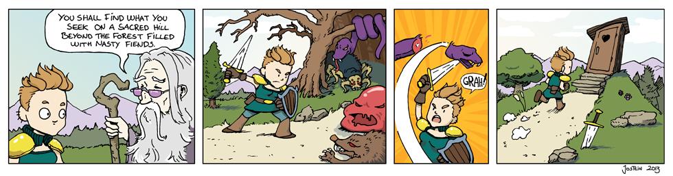 Quest - 'Boumeries' guest comic
